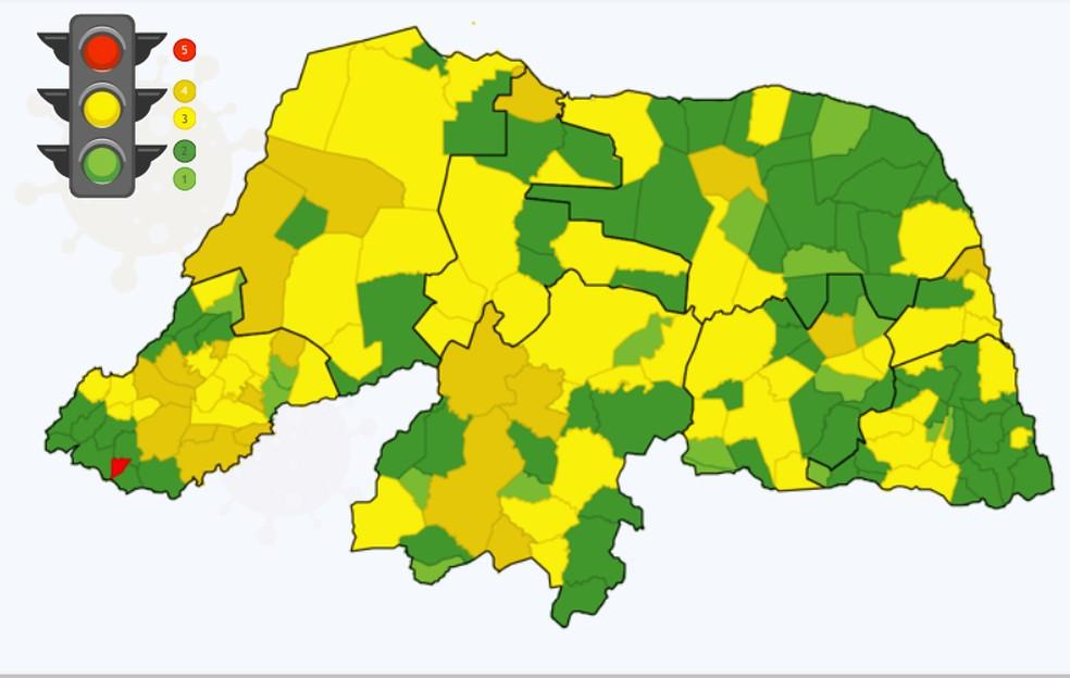 Apenas cidades com indicadores verdes podem realizar eventos sociais com até 150 pessoas no RN, segundo decreto. — Foto: Reprodução