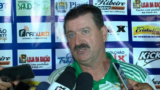 Igualidade, competência e  desenvolvimento: Campos avalia empate do Altos em estreia