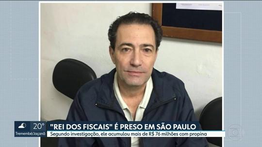 'Rei da máfia dos fiscais' do ISS é preso em SP por fraude à Justiça