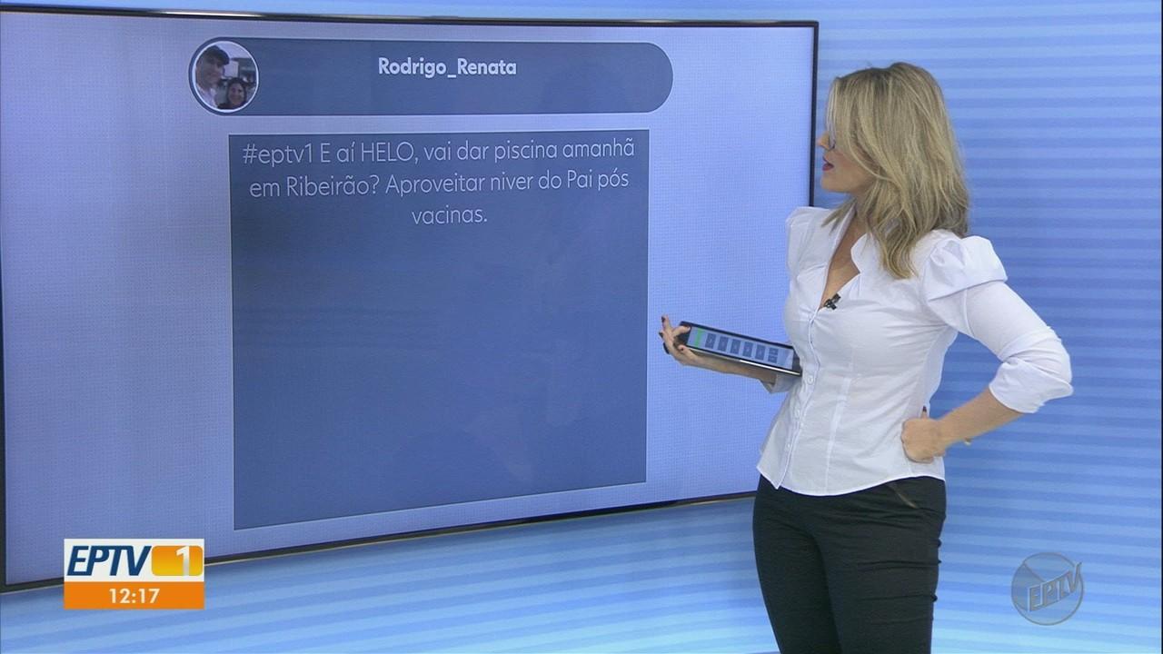 Veja mensagens enviadas pelos telespectadores no EPTV 1