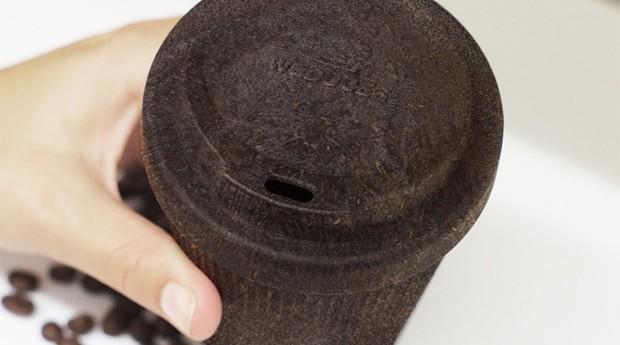 Kaffeform utiliza borra de café e madeira para produzir seus copos (Foto: Divulgação)