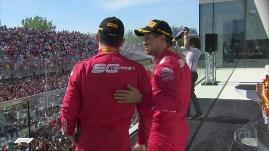 Vettel cruza em 1º no GP do Canadá de Fórmula 1, mas punido, fica em 2º