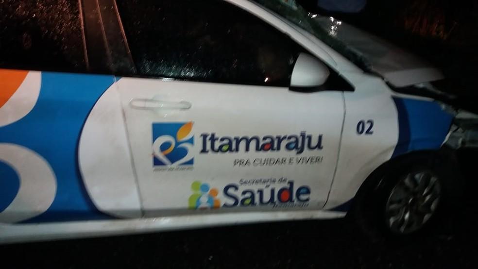 Acidente ocorreu no fim da noite de terça-feira — Foto: Site Bahia Extremo Sul