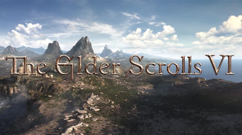 The Elder Scrolls 6 foi anunciado originalmente em 2018 e segue sem maiores informações — Foto: Reprodução/Bethesda