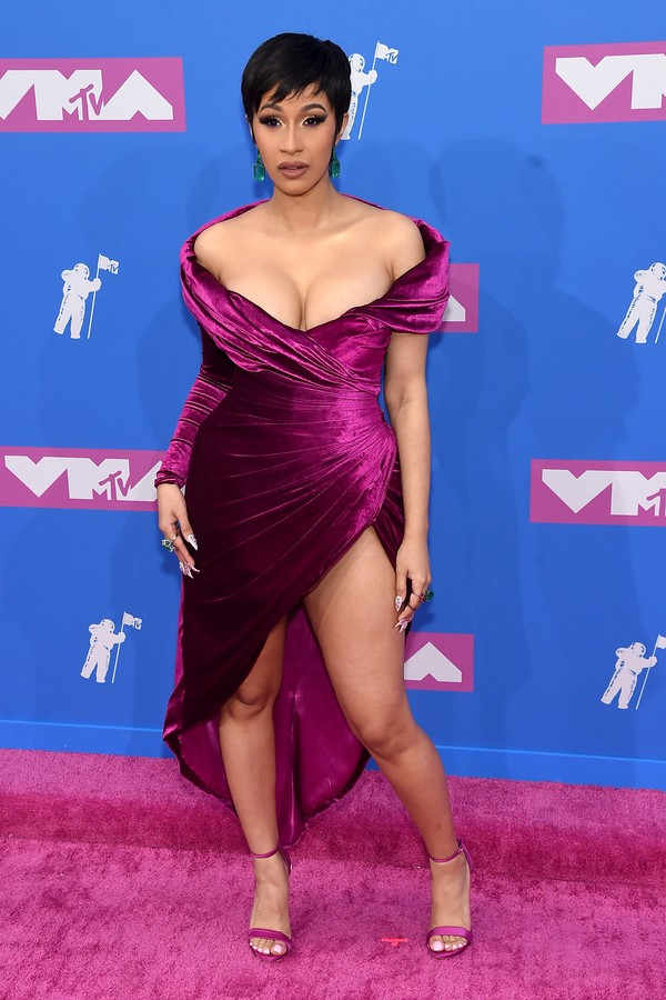 NEW YORK, NY - AUGUST 20:  Cardi B attends the 2018 MTV Video Music Awards at Radio City Music Hall on August 20, 2018 in New York City.  (Photo by Jamie McCarthy/Getty Images) (Foto: Getty Images)