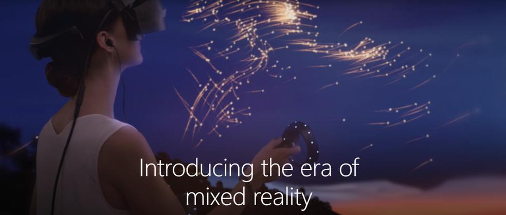 Realidade Mista do Windows 10 torna a experiência de usar computador muito mais imersiva (Foto: Reprodução/Luana Marfim)
