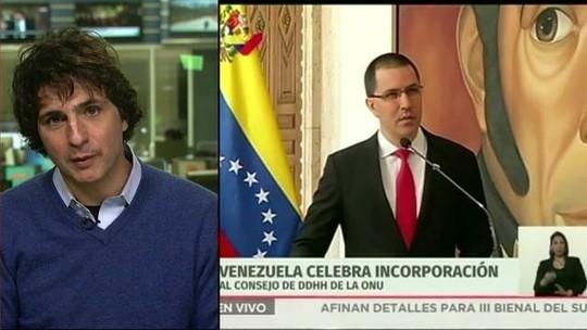 Oposição condena eleição da Venezuela para Conselho da ONU