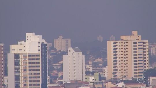 Falta de chuva prejudica qualidade do ar nas regiões de Sorocaba e Jundiaí