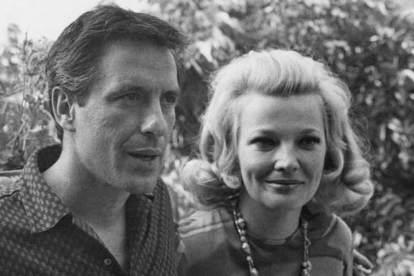 Gena Rowlands e John Cassavetes (Foto: Getty Images)