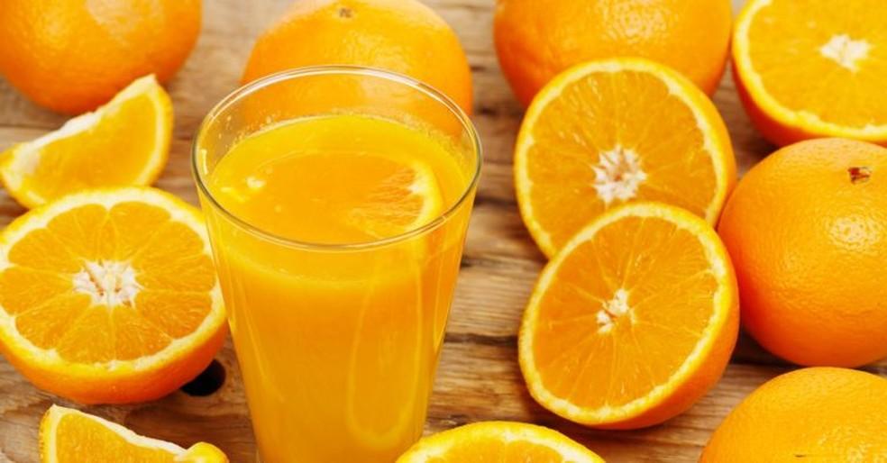 Suco de laranja — Foto: Divulgação
