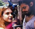 Carolinie Figueiredo com o namorado, Lucas Rangel | Reprodução