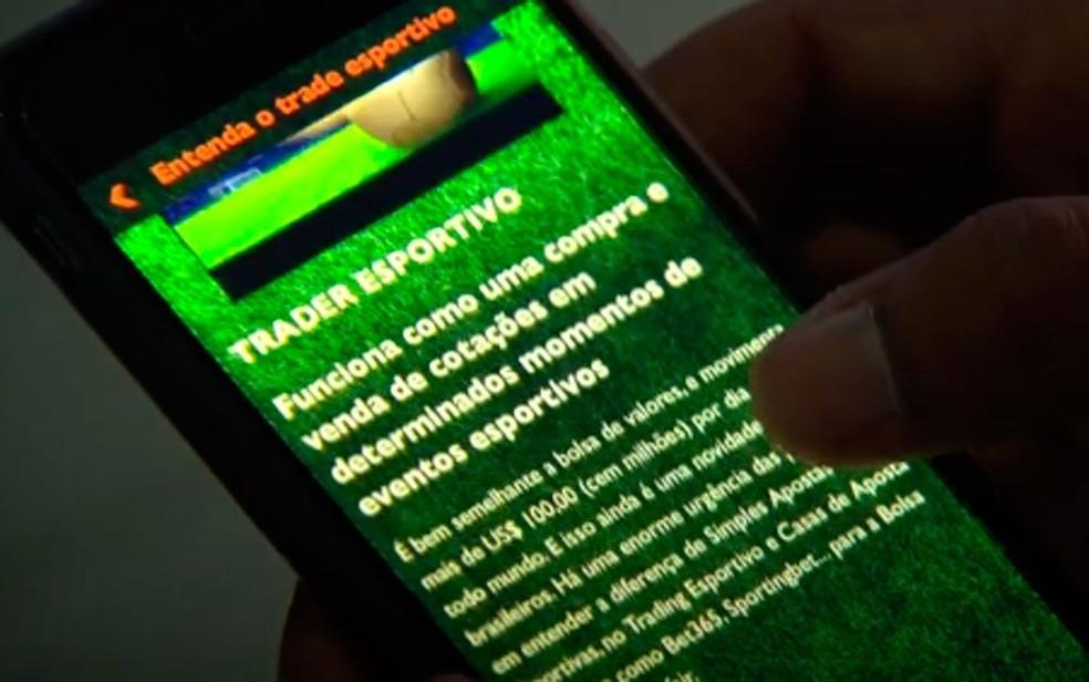 Empresários da D9 empreendimentos atraíam vítimas com a promessa de ganhar dinheiro com apostas nos jogos (Foto: Reprodução/TV Globo)