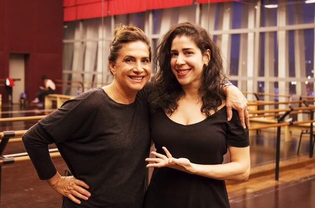 Totia Meirelles e Cristiana Pompeo (Foto: Daniel Coelho)