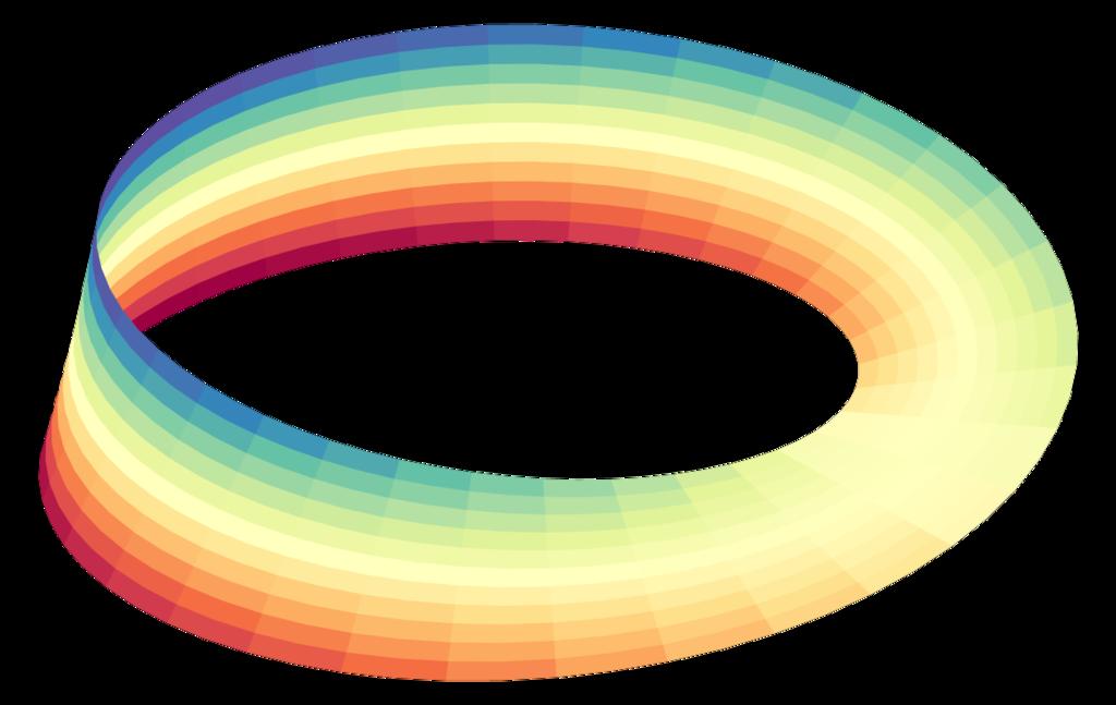 Fita de Möbius (Foto: Index-0/Wikimedia Commons)