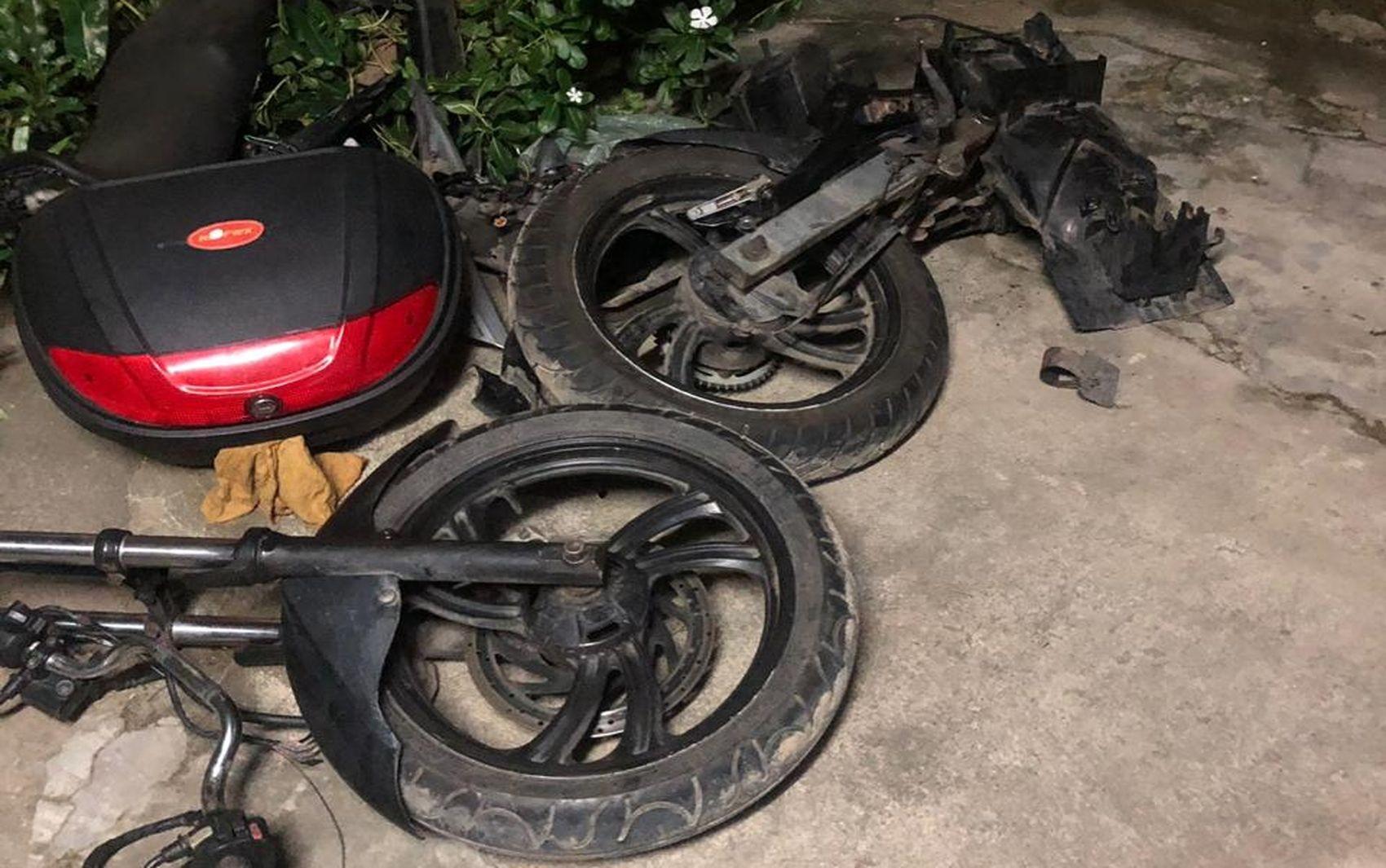 Trio suspeito de realizar desmanche de motocicletas é preso em Aracaju - Notícias - Plantão Diário