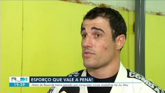 Atleta de Resende coleciona medalhas em campeonatos de jiu-jitsu pela América Latina