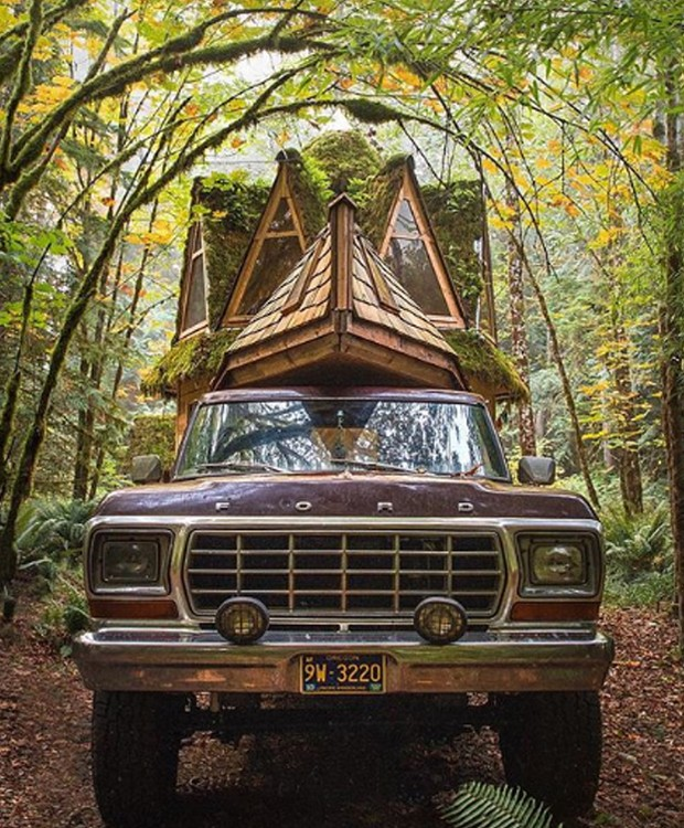 O transporte pode ser feito por meio de uma caminhonete (Foto: Instagram/ Reprodução)