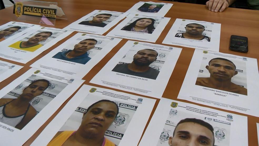 Suspeitos de homicídios foram presos na Grande Vitória — Foto: Ronaldo Rodrigues/ TV Gazeta