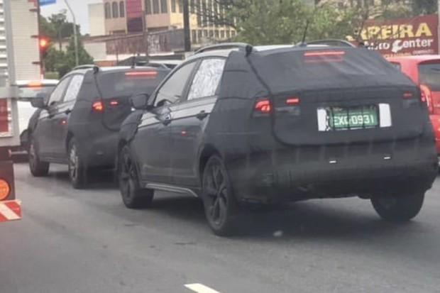 Volkswagen T-Sport é flagrado rodando por São Bernardo (Foto: Denis Diogo)