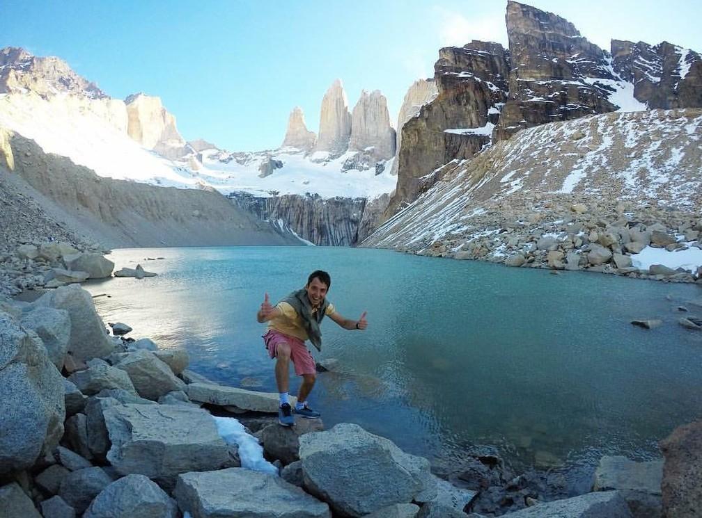 Ele passou por todos os países da América do Sul — Foto: Gabriel Dias/ Arquivo pessoal