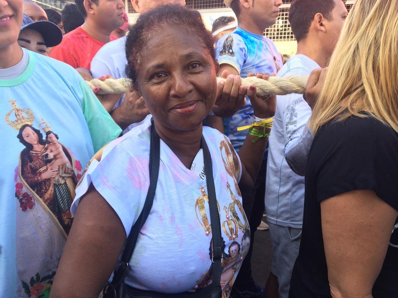 Amapaense viaja quase 2 mil km do Caribe para agradecer graças no Círio de Macapá - Notícias - Plantão Diário