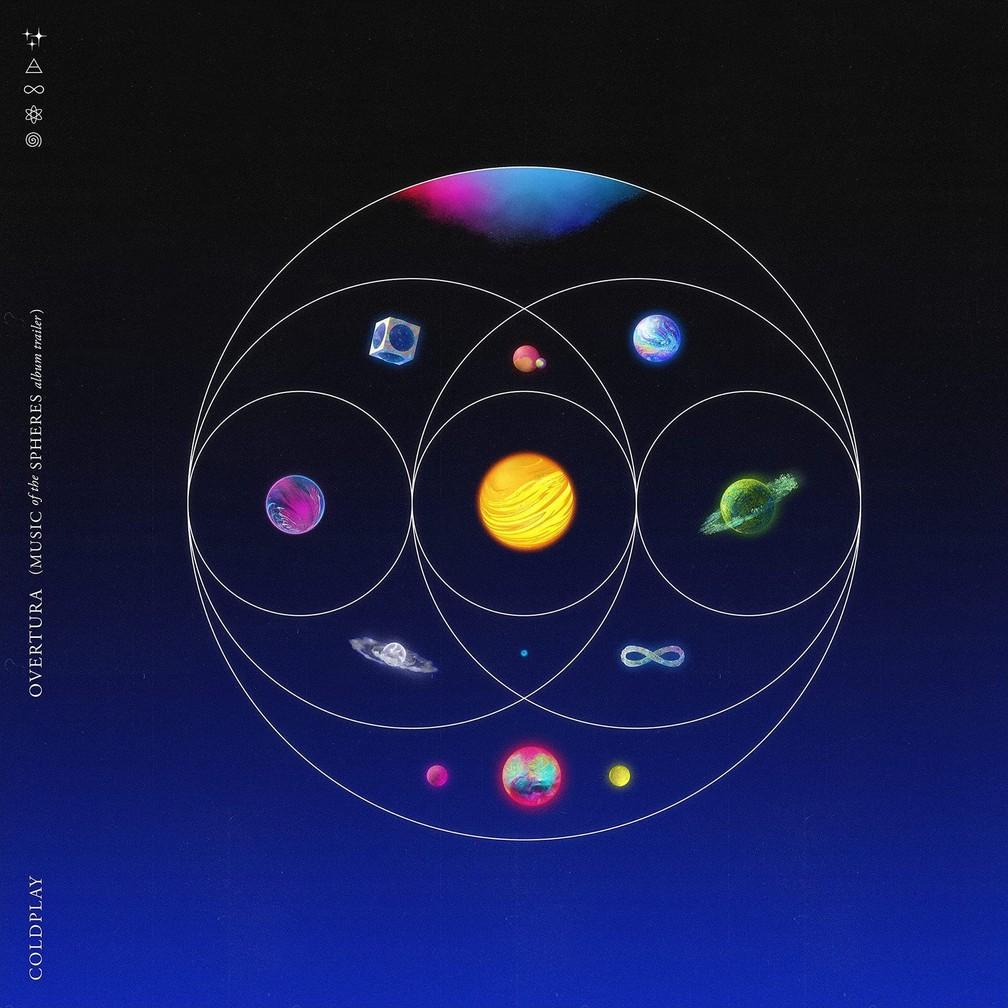 Capa de 'Music Of The Spheres', do Coldplay — Foto: Reprodução