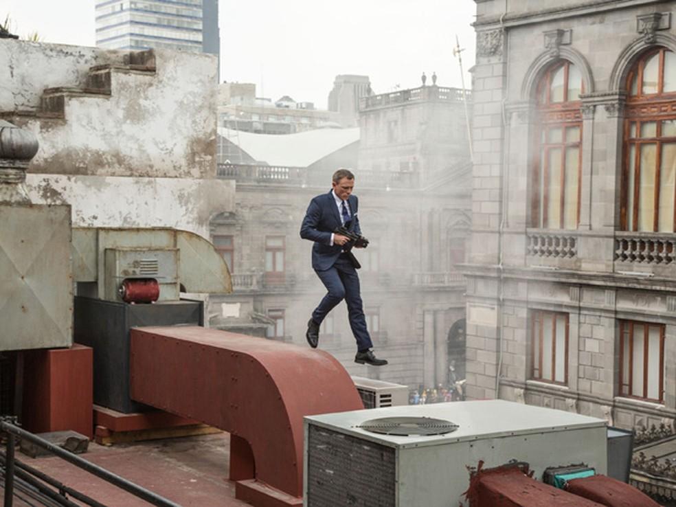 Daniel Craig em '007 contra Spectre' — Foto: Divulgação