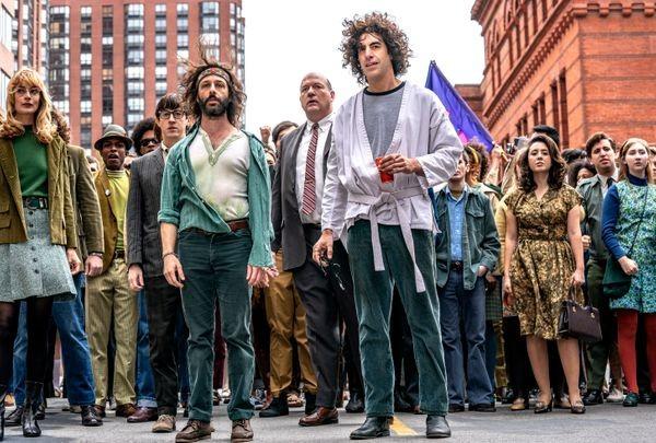 Cena de 'Os sete de Chicago', da Netflix (Foto: Niko Tavernise/Netflix)