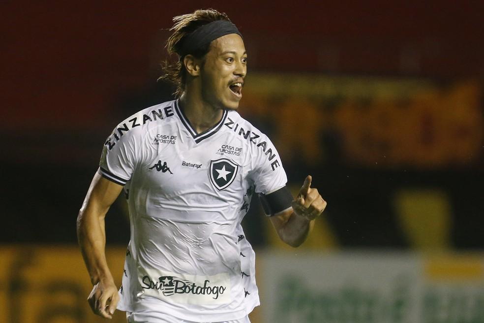 Honda acerta renovação de contrato com o Botafogo — Foto: Vitor Silva/Botafogo