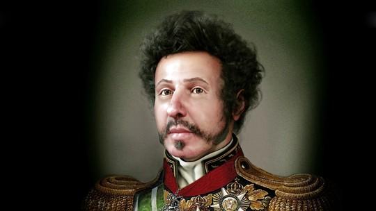 Pesquisadores fazem reconstituição do rosto de Dom Pedro I