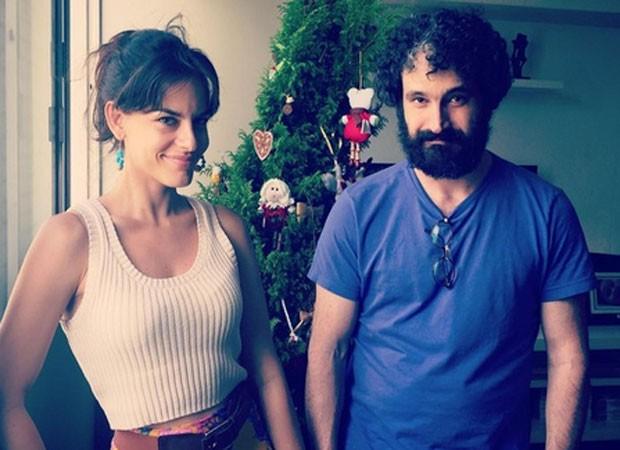 Caco Ciocler e Luísa Micheletti (Foto: Reprodução)