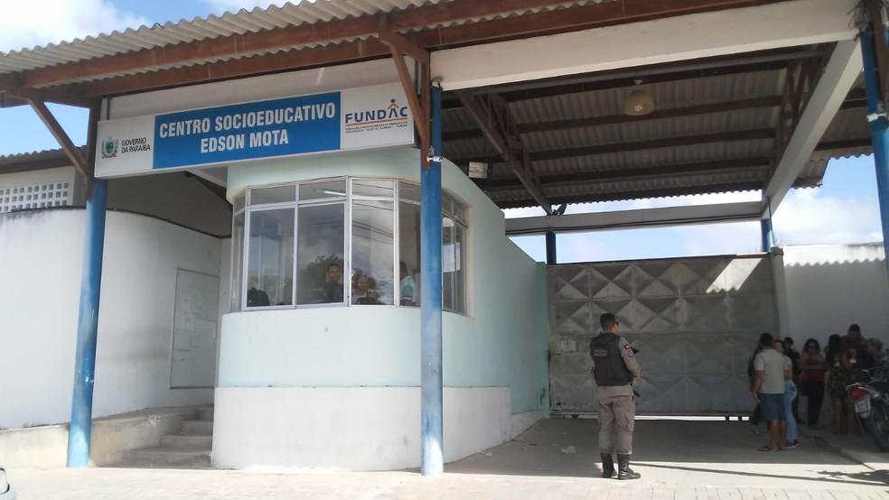 Centro Socieducativo Edson Mota, em Mangabeira, João Pessoa — Foto: Sílvia Torres/TV Cabo Branco