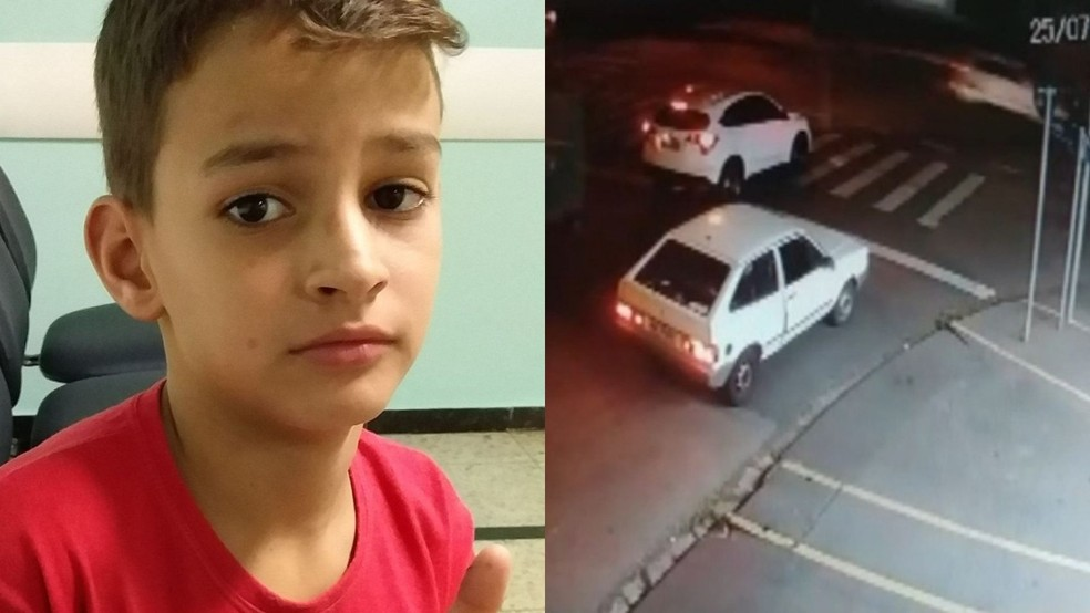 Imagens mostram momento em que motorista bêbado atropela e mata menino de 11 anos em Sorocaba — Foto: Arquivo Pessoal