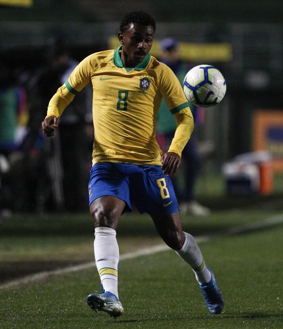 Wendel seleção brasileira pré-olímpica — Foto: Getty Images