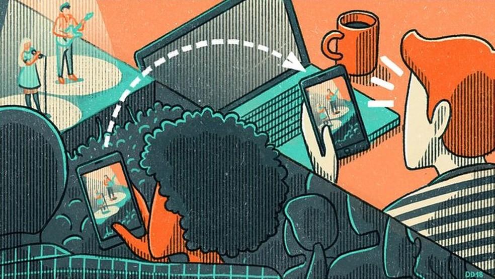 Escrever a um ex pode ser considerada uma forma de microtraição (Foto: DANAE DIAZ/BBC THREE)