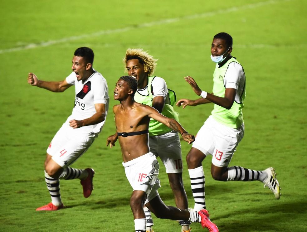 caio eduardo vasco x bahia final copa do brasil sub-20 — Foto: André Durão