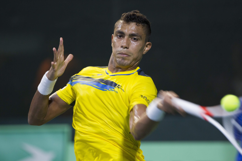 Brasil e Rep. Dominicana terminam dia empatados pela Copa Davis