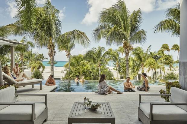 Que tal a vista do Four Seasons em Anguilla? (Foto: reprodução)