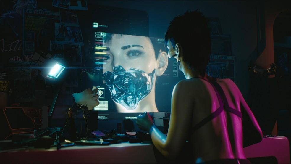 Você pode aprimorar seu personagem com médicos legalizados ou não em Cyberpunk 2077 (Foto: Divulgação/CD Projekt Red)