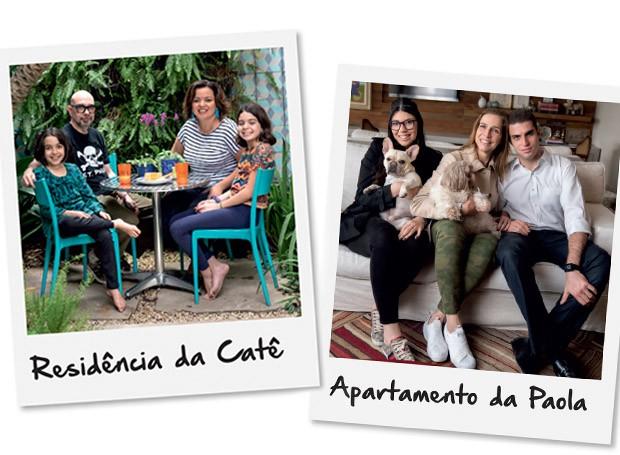 A casa da paisagista Caterina Poli e o apartamento da empresária Paola Fraccaroli foram os eleitos para passar pelo projeto Casa e Jardim + Deca Por uma Reforma Fácil (Foto: Casa e Jardim)