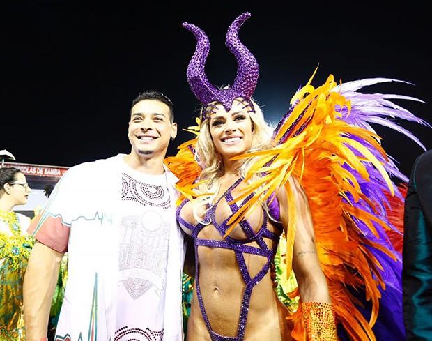 Juju Salimeni e Felipe Franco (Foto: Eduardo Saraiva/ QUEM)