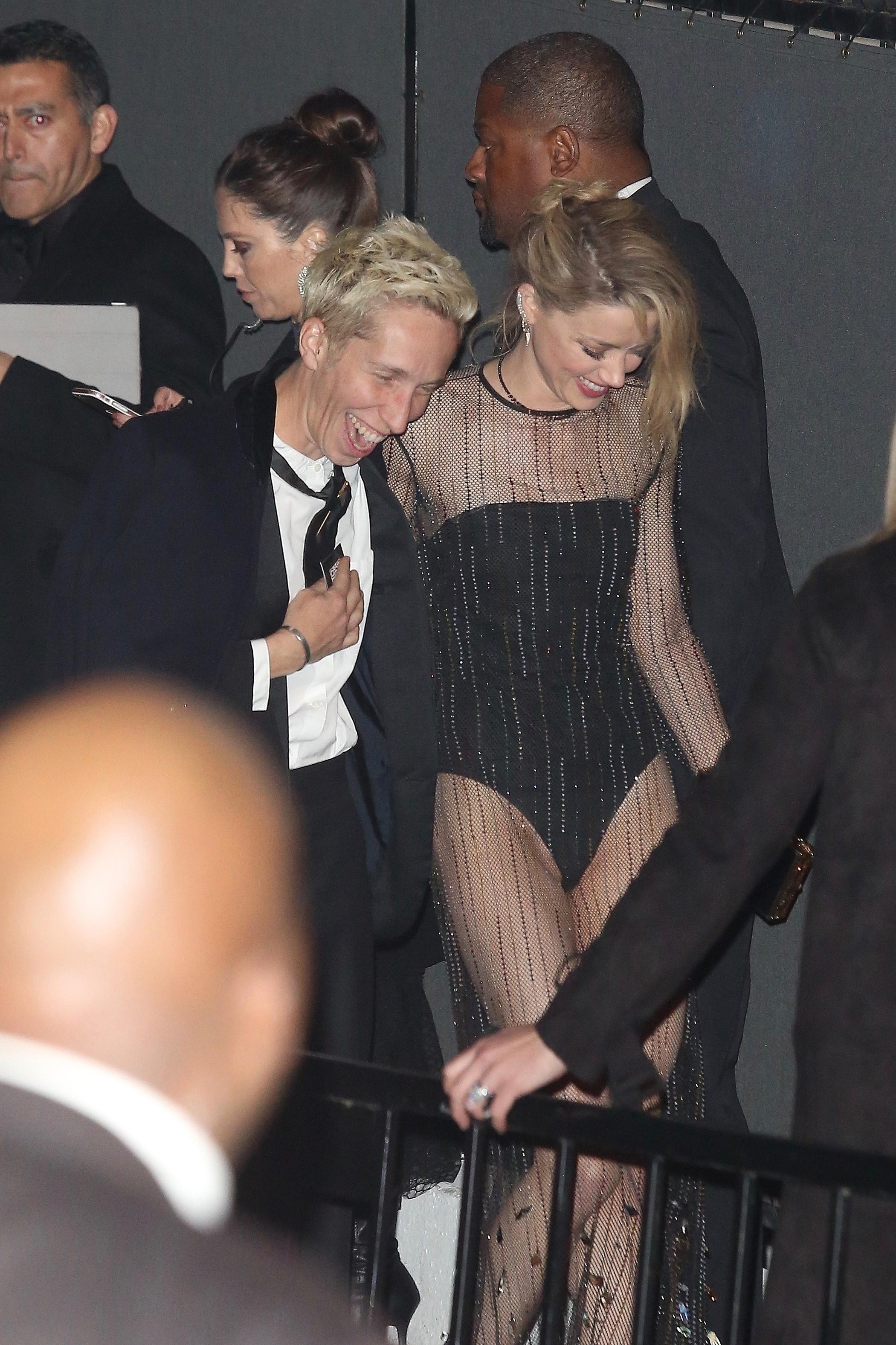Amber Heard em Los Angeles (Foto: Roger / BACKGRID)