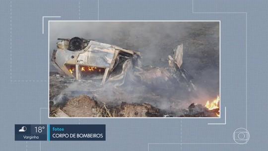 Duas pessoas morrem e sete ficam feridas em acidente na BR-262, em Manhuaçu