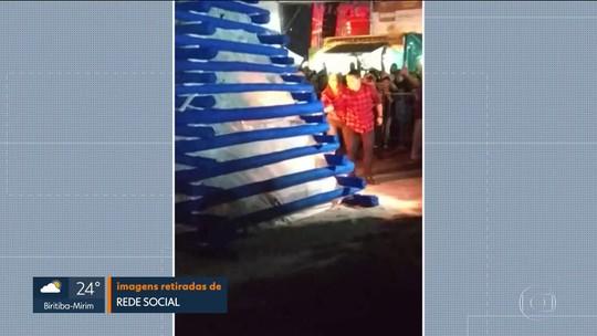 Prefeito de Osasco e primeira-dama são atingidos por explosão em arraial junino