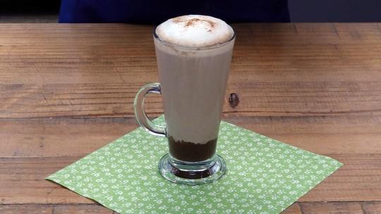 Cappuccino com Ganache