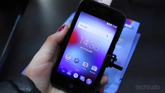 Testamos o Blade A110, smartphone da ZTE que custa R$ 549