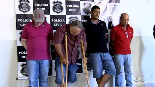 Presos suspeitos de furtar gado e tratores avaliados em R$ 5 milhões