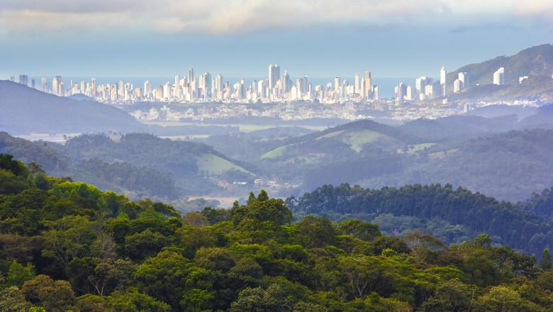 bacia-rio-camburiu-sc-sustentabilidade-natureza (Foto: Divulgação/TNC)