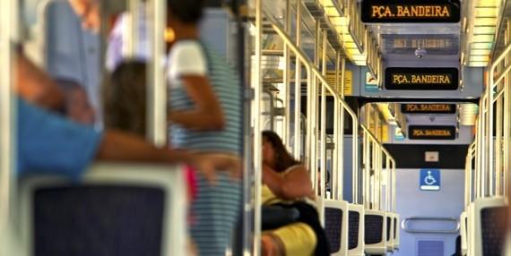 Trem da companhia SuperVia, no Rio de Janeiro (Foto: Divulgação)