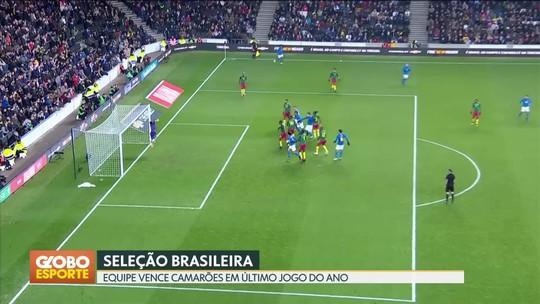Seleção Brasileira vence amistoso contra Camarões